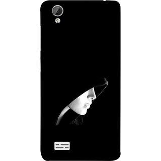 FUSON Designer Back Case Cover For Vivo Y31 :: Vivo Y31L (Lover Girly Lady Women Fashion Female With Burkha )