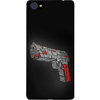 FUSON Designer Back Case Cover For Vivo X7 Plus (My Name Is The God Upon Thee Evil New Strike Down)