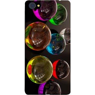 FUSON Designer Back Case Cover For Vivo X5Pro :: Vivo X5 Pro (Floral Pattern Free Fluorescent Colorful Bubbles)