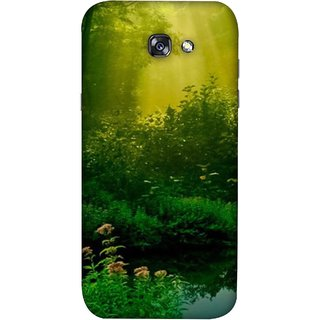 FUSON Designer Back Case Cover For Samsung Galaxy A5 2017 (Tropical And Subtropical Coniferous Forests Wallpaper)
