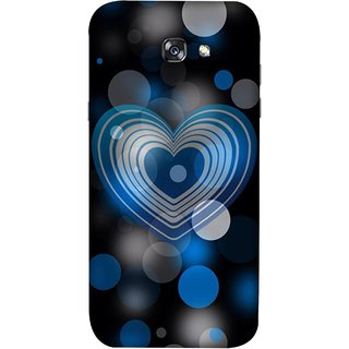 FUSON Designer Back Case Cover For Samsung Galaxy A7 2017 (Pink Red Wallpapers Boyfriends Pure True Relations)