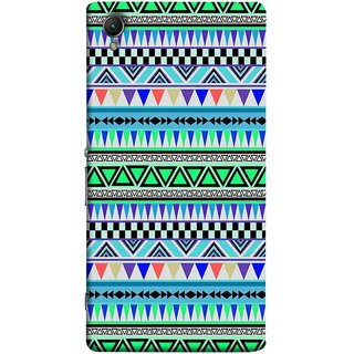FUSON Designer Back Case Cover For Sony Xperia Z3+ :: Sony Xperia Z3 Plus :: Sony Xperia Z3+ Dual :: Sony Xperia Z3 Plus E6533 E6553 :: Sony Xperia Z4 (Tribal Patterns Colourful Eye Catching Verity Different )