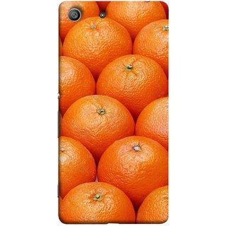 FUSON Designer Back Case Cover For Sony Xperia Z3 Compact :: Sony Xperia Z3 Mini (Countryside Scent Of Orange Blossoms Citrun )