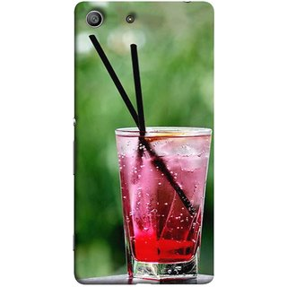 FUSON Designer Back Case Cover For Sony Xperia Z3 Compact :: Sony Xperia Z3 Mini (Glass Full Of Cold Fresh Squeezed Watermelon Juice)