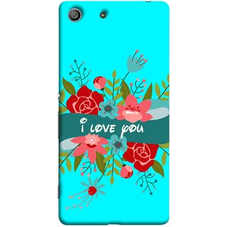 FUSON Designer Back Case Cover For Sony Xperia Z3 Compact :: Sony Xperia Z3 Mini (Pink Red Wallpapers Flowers Lovers Boyfriends )