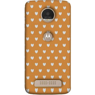 FUSON Designer Back Case Cover For Motorola Moto Z Play (Lovers Boys Girls Girly Rose Day Collage Schools Garden)