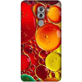 FUSON Designer Back Case Cover For Huawei Honor 6X (Watercolor Colorful Holiday Sketch Oil Painting )