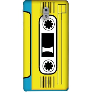 FUSON Designer Back Case Cover For Nokia 3 (Tape Cassette Black Film Screws Old Player)