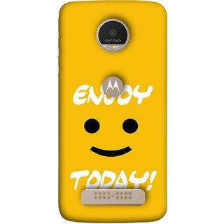 Buy Fuson Designer Back Case Cover For Motorola Moto Z Play Big