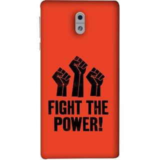 FUSON Designer Back Case Cover For Nokia 3 (Always Fight For Truth Justice Will Stand Tall In Sky )