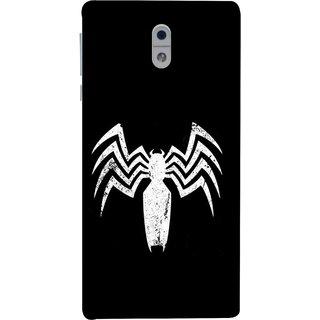 FUSON Designer Back Case Cover For Nokia 3 Spiderman Logo Catwoman Dc Comics Parker