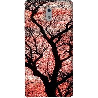 FUSON Designer Back Case Cover For Nokia 3 (Trees Gardens Big Old Jungle Branches Birds Singing)