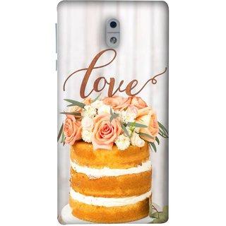 FUSON Designer Back Case Cover For Nokia 3 (Comes True Love You Forever Valentine Couples Lovers)