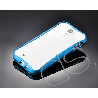 0.7mm Ultrathin Metal Bumper Case for Samsung Galaxy S4 Slim Aluminum Frame Protector with Screw