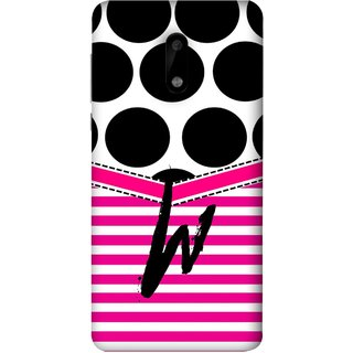 FUSON Designer Back Case Cover For Nokia 6 (Beautiful Cute Nice Couples Pink Design Paper Girly W)