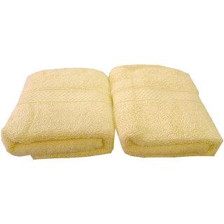 Welhouse India 500 GSM Cotton 2 Piece Hand Towel Set (40X60) RHT-008