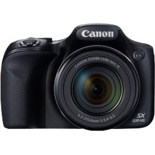 Canon Powershot SX530 (Black Camera)