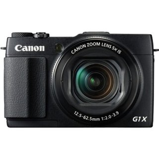 Canon PowerShot G1X Mark II 13 MP Point and Shoot Camera (Black)