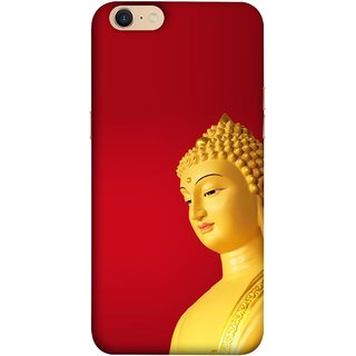 FUSON Designer Back Case Cover For Oppo A39 (Gautam Buddha Statue Scenary Lord Siddharth)