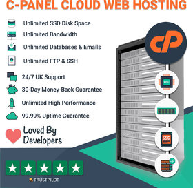 Cpanel Web Hosting Unlimited from US server