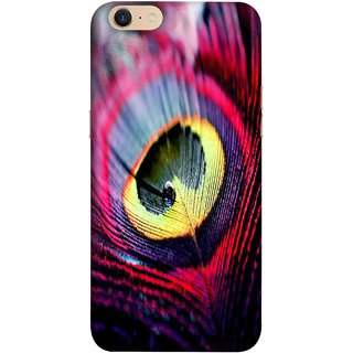 FUSON Designer Back Case Cover For Oppo A39 (Close Up View Of Eyespot On Male Peacock Feather)