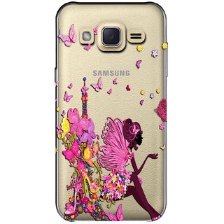 competitive price 49317 da98e Snooky Printed Butterfly Mobile Back Cover of Samsung Galaxy J2 -  Multicolour
