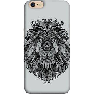 FUSON Designer Back Case Cover For Oppo A39 (Jungle Ka King Pencil Pen Sketch Best Wallpaper)