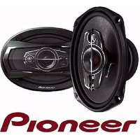 One Pair Pioneer Ts-A6995S 6X9Inch 600W 5-Way In Car Rear Speaker Oval Size