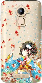 Snooky Printed Fishes Mobile Back Cover of Coolpad Note 3 Lite - Multicolour