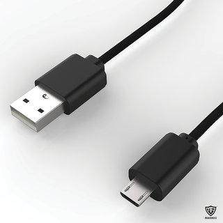 Other Micro USB to USB High speed data transfer and Charging Cable for Motorola Moto X Play (Black)