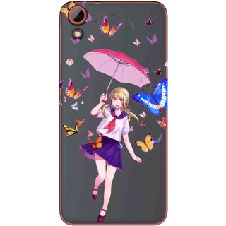 a9d8ffed4 Buy Snooky Printed Butterfly Mobile Back Cover of HTC Desire 628 -  Multicolour Online - Get 69% Off
