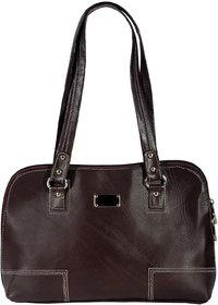 ZINT Genuine Leather Brown Handmade Shoulder Bag Tote Bag Shopping Bag Purse Women's Handbag
