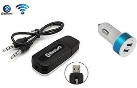 USB Bluetooth Audio Receiver Music Adapter Dongle Speakers Car