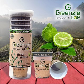 Greenzie Earl Grey Green Tea Cups (Pack of 10 )