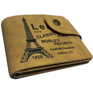 men stylish unique wallet (p5) (Synthetic leather/Rexine)