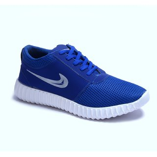 Cyro Men's Blue Smart Running Sports Shoes