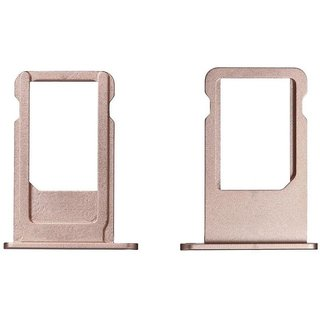 Sim Card Slot Sim Tray Holder Replacement Part for Samsung  C9(ROSE GOLD)
