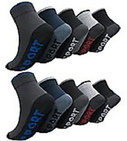 Pack Of 5 multicolor Men Socks