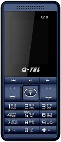 Q-Tel Q10 (Dual Sim, 1.8 Inch Display, Multi Language Support, Wireless FM, 800 Mah Battery)