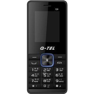 Q-Tel Q6 Mobile Phone 1.8 Bright Display 800 mAh Battery Bright Torch Wirefree FM BlueTooth Multiple Languages