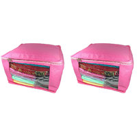 Pack Of 2 Pcs Saree Cover Blouse Cover Travelling Pouch