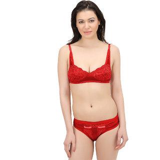 919bede87e Buy Elina Women s Red Bra Panty Set. Online - Get 60% Off