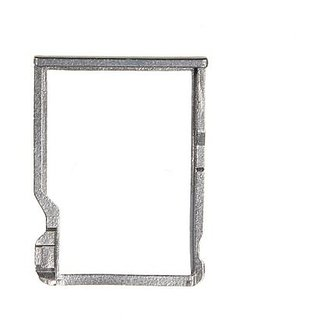 Sim Card Slot Sim Tray Holder Replacement Part for HTC M7(SILVER)