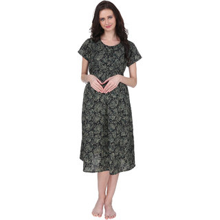 b3073692dca Buy Vixenwrap Multicolor Printed A-Line Maternity Gown Online   ₹981 from  ShopClues