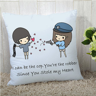 StyBuzz Valentine's Day Gift cushion cover - 1pc