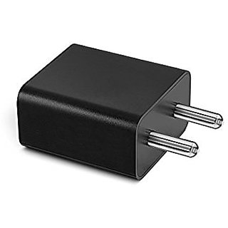 Xiaomi Mobile Charger adapter Compatible for Redmi Note 4 and other mobiles /Travel Charger Genuine 2 Amp (BLACK)