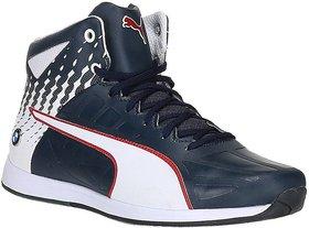 Puma Men's Blue Lace-up Sneakers