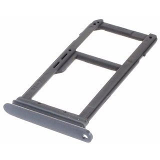 Sim Card Slot Sim Tray Holder Replacement Part for Samsung S-7(BLACK)