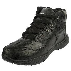Abon Mens Black Casual Boots