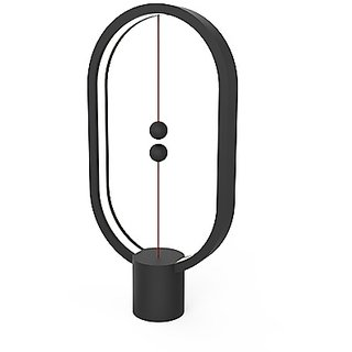 Heng Balance Lamp Ellipse Plastic USB Black